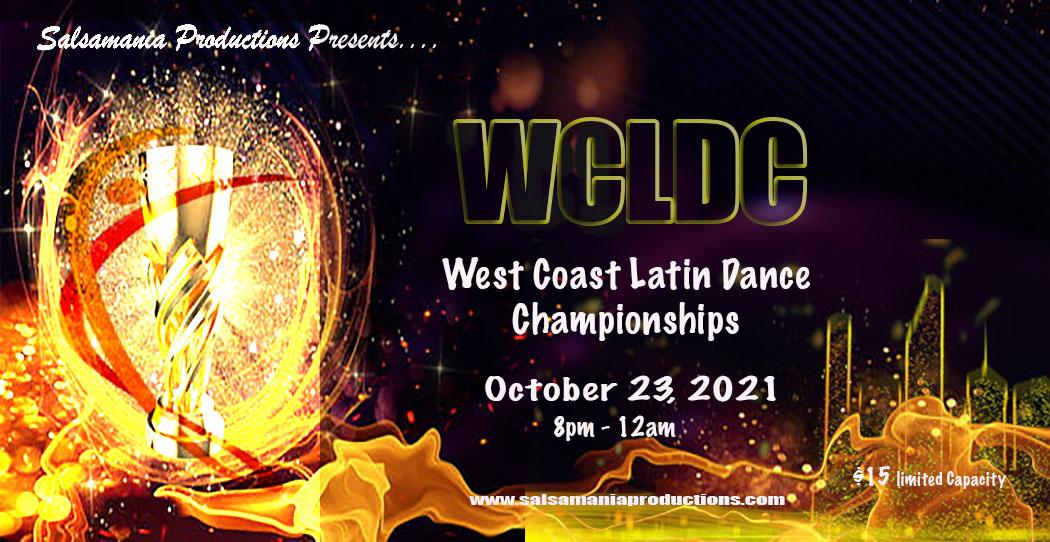 5th Annual West Coast Latin Dance Championships & Dancers Night Social